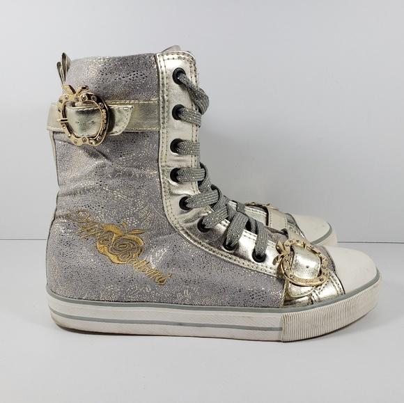 Apple Bottoms Shoes - Apple Bottoms Sneakers Kishia High AB2208 Women 9